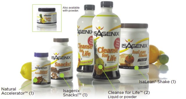 Core Isagenixs products